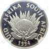1/10th Protea, South Africa, 1994, Gold, Conservation Commemorative, PF69