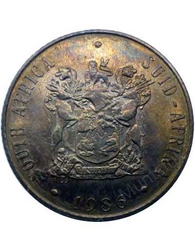 Two Cent, South Africa, 1986, Bronze