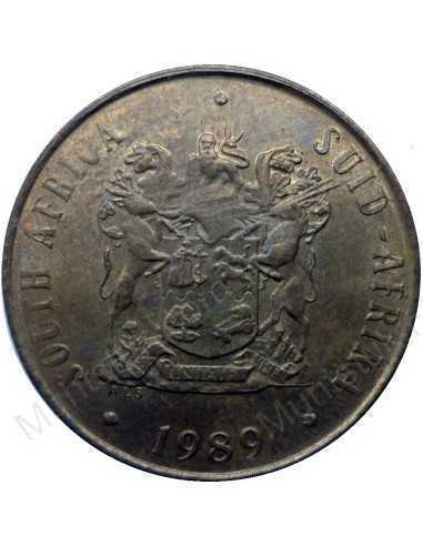 Two Cent, South Africa, 1989, Bronze