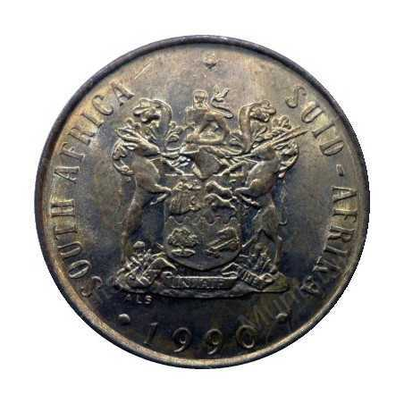 Two Cent, South Africa, 1990, Bronze