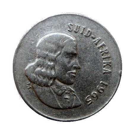 Five Cent(Afrikaans), South Africa, 1965, Nickel