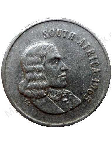 Five Cent(English), South Africa, 1965, Nickel