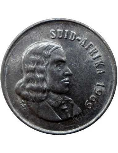 Five Cent(Afrikaans), South Africa, 1969, Nickel