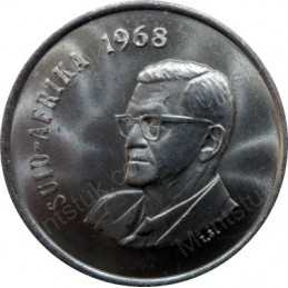 Twenty Cent(Afrikaans), South Africa, 1968, Nickel