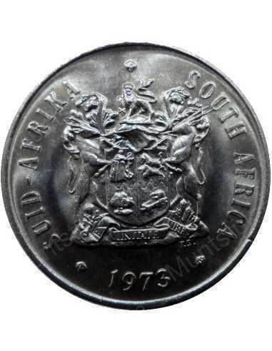 Twenty Cent, South Africa, 1973, Nickel