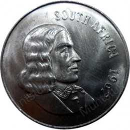 Fifty Cent(English), South Africa, 1967, Nickel