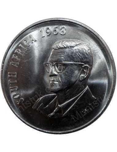 Fifty Cent(English), South Africa, 1968, Nickel