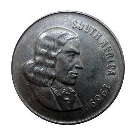 Fifty Cent(English), South Africa, 1969, Nickel