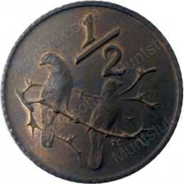 Half Cent, South Africa, 1979, Bronze