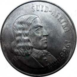 One Rand(Afrikaans), Obverse, South Africa, 1966, Silver