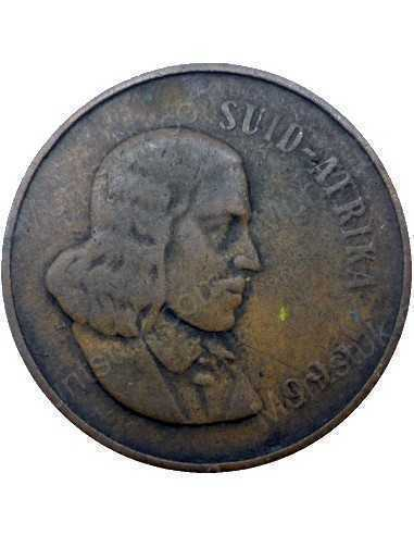 Two Cent(Afrikaans), South Africa, 1966, Bronze