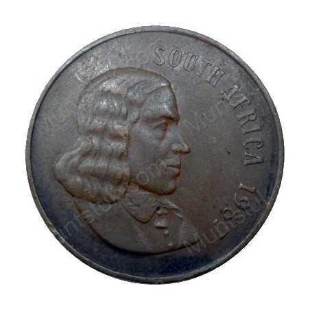 Two Cent(English), South Africa, 1967, Bronze