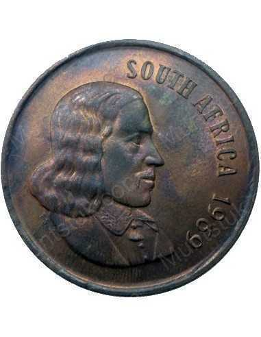 Two Cent(English), South Africa, 1969, Bronze