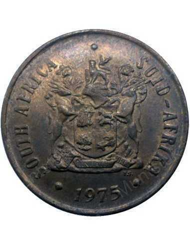 Two Cent, South Africa, 1975, Bronze