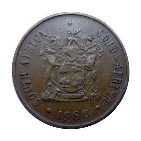 Two Cent, South Africa, 1980, Bronze