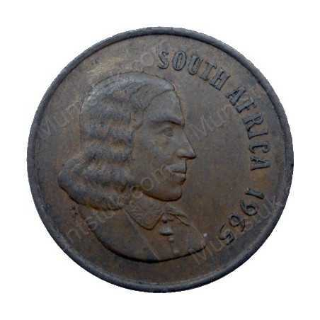 Two Cent(English), South Africa, 1965, Bronze