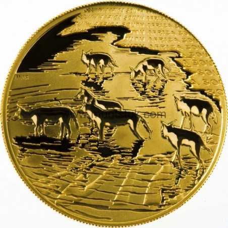 Natura - 2012 African Painted Wolf(R50, 1/2 oz, 24 ct gold)