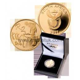 The Khoisan Heritage, R2 Gold Coin