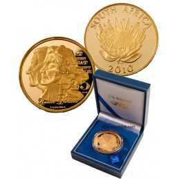 2010 Protea Series, 1/10 OZ GOLD, Nadine Gordimer
