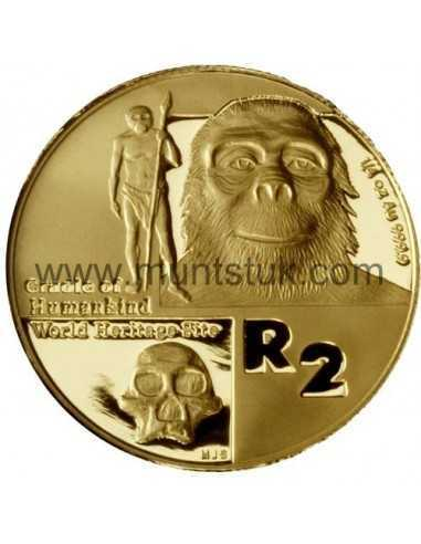 2006 Cradle of Human Kind(R2, 1/4 oz, 24 ct gold) - R2 Gold Coin - Cradle of Human Kind, World Heritage Site, 2006 - 1