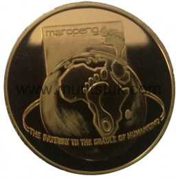 2006 Cradle of Human Kind(R2, 1/4 oz, 24 ct gold) - R2 Gold Coin - Cradle of Human Kind, World Heritage Site, 2006 - 3