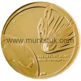 2008 Vredefort Dome, R2 Gold Coin - R2 Gold Coin -Vredefort, World Heritage Site, 2008 - 1