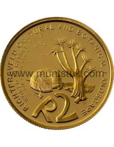 2009 Richtersveld(R2, 1/4 oz, 24 ct gold) - R2 Gold Coin -Richtersveld, World Heritage Site, 2009 - 1