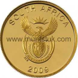 2009 Richtersveld(R2, 1/4 oz, 24 ct gold) - R2 Gold Coin -Richtersveld, World Heritage Site, 2009 - 2
