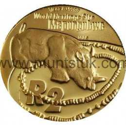 2005 Mapungubwe(R2, 1/4 oz, 24 ct gold) - R2 Gold Coin -Mapungubwe, World Heritage Site, 2005 - 1