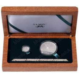 2012 Gautrain, Combination Silver Set, Proof - Two Coin CombinationSterling Silver Set (Proof) - Limited Edition: 700 Packaged