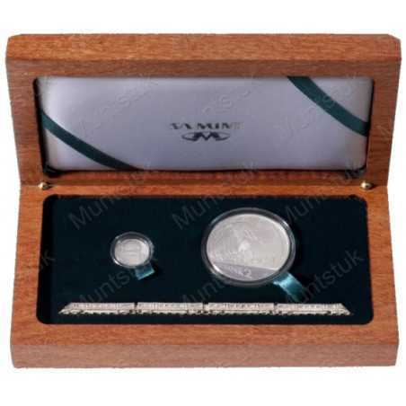2012 Gautrain, Combination Silver Set, Proof - Two Coin Combination Sterling Silver Set (Proof) - Limited Edition: 700 Packaged