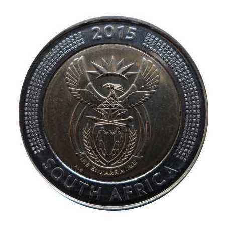 Five Rand, South Africa, 2015, Bimetal, Commemorative