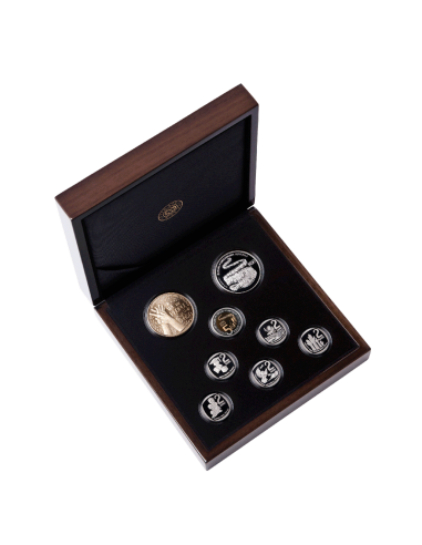 South Africa, 2019 - 8 coin set