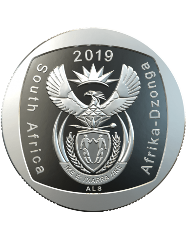 Two Rand, South Africa, 2019 Right to education Obverse