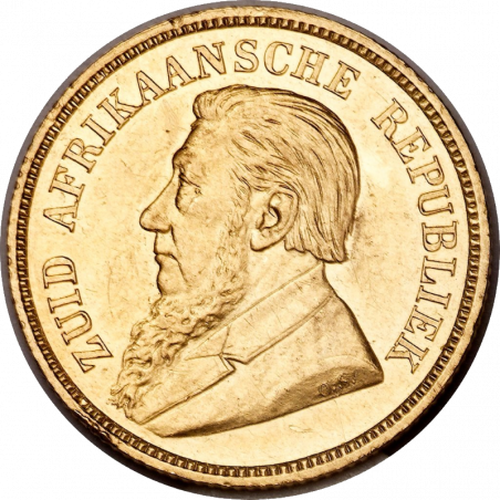 Halfpond, Zuid-Afrikaansche Republiek, 1892, Double Shaft, Gold