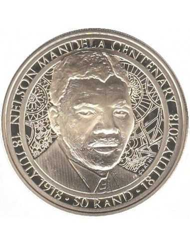 Fifty Rand, South Africa, 2018, Mandela - Young man Reverse