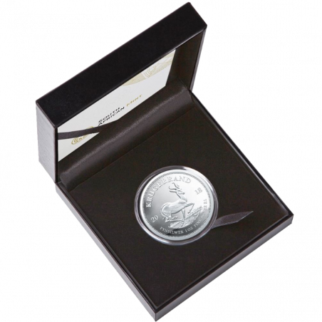 1oz Krugerrand, South Africa, 2018, Silver Box