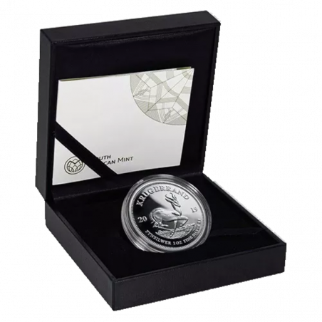 1oz Krugerrand, South Africa, 2019, Silver Box