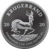 1oz Krugerrand, South Africa, 2020, Silver Reverse