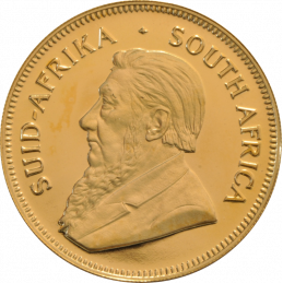 1oz Krugerrand, South Africa, 1971, Gold, Obverse