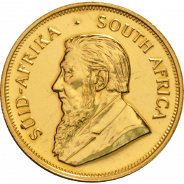1oz Krugerrand, South Africa, 1967, Gold, Obverse