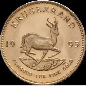 1oz Krugerrand, South Africa, 1995, Gold, Reverse
