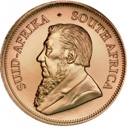 1oz Krugerrand, South Africa, 1999, Gold, Obverse