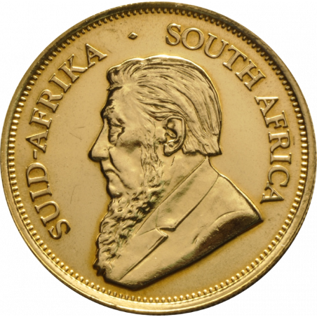 1oz Krugerrand, South Africa, 2001, Gold, Obverse