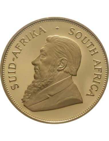 1oz Krugerrand, South Africa, 1997, Gold, Obverse