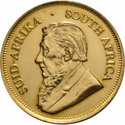 1oz Krugerrand, South Africa, 2006, Gold, Obverse