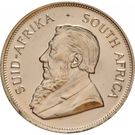 1oz Krugerrand, South Africa, 2014, Gold, Obverse