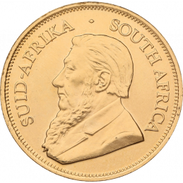 1oz Krugerrand, South Africa, 2007, Gold, Obverse
