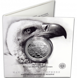 2018, South Africa , R2, Silver, Proof -pamphlet