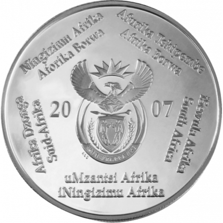 2 Rand, South Africa, 2007, Silver, Obverse, Proof - International Polar Year